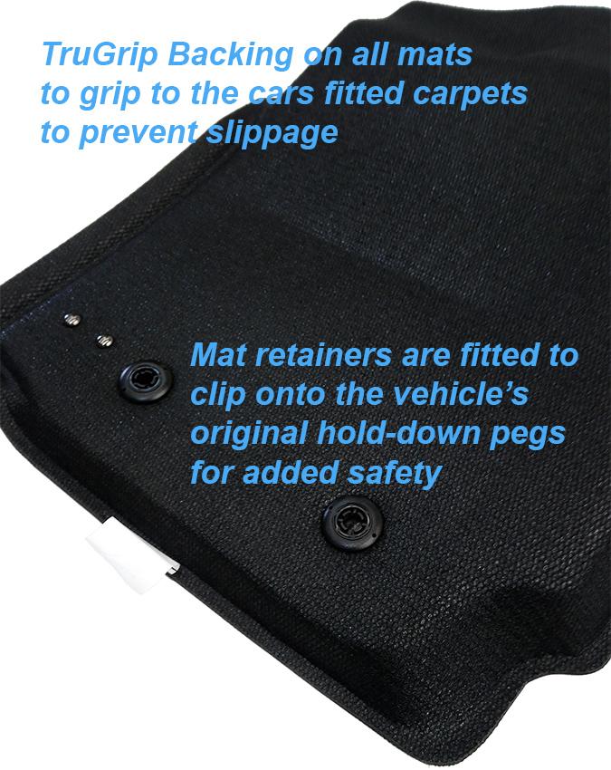 Fits Jeep Grand Cherokee Wk2 2011 2019 3d Maxtrac Black